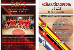 OKK Sloboda Tuzla Kalendar i plakat