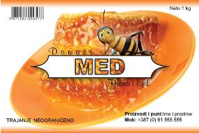 Etiketa Med