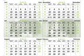 MERKUR osiguranje Kalendar